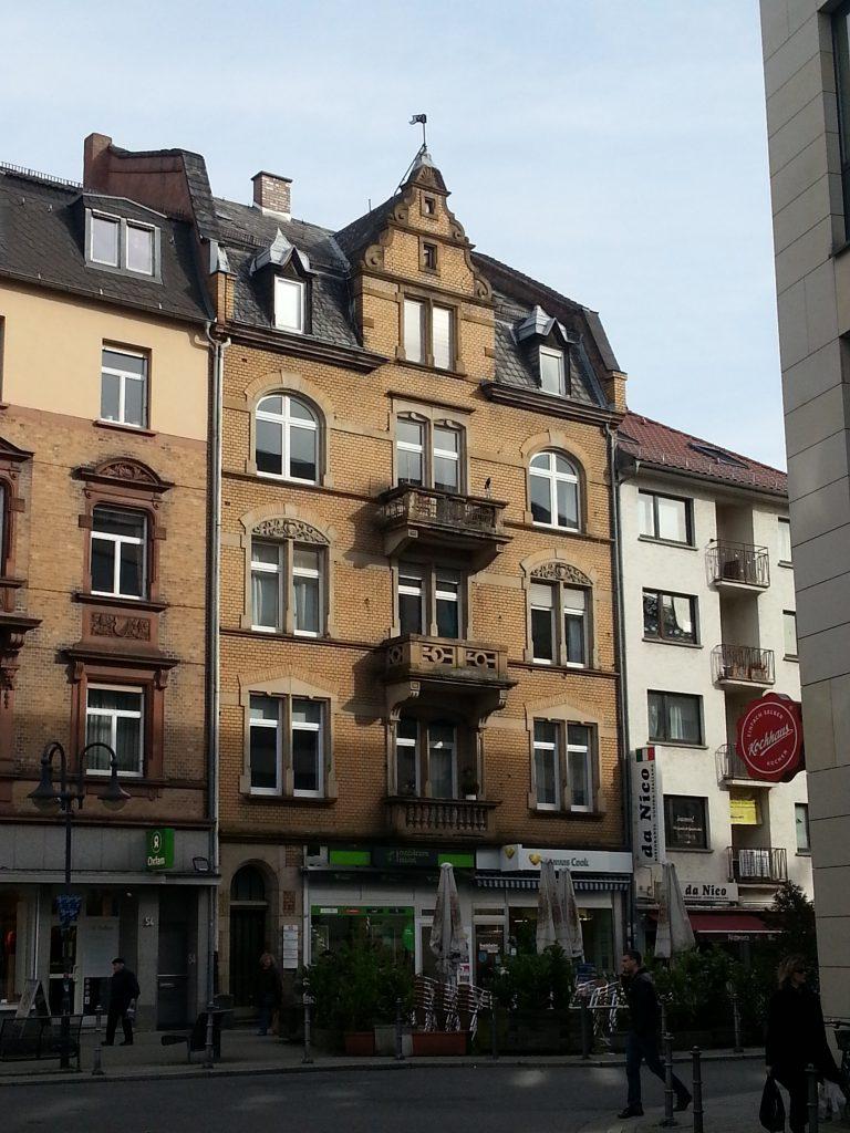 Stilaltbau in Bockenheim